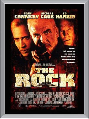 The Rock Movie A1 To A4 Size Poster Prints