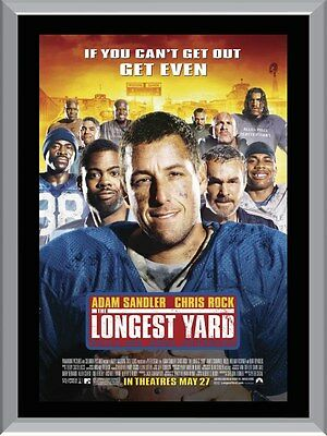 The Longest Yard Movie A1 To A4 Size Poster Prints