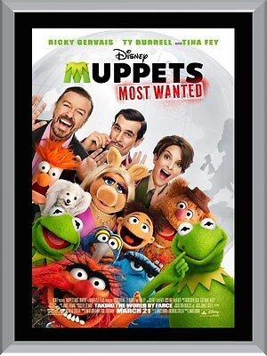 Muppets Most Wanted A1 To A4 Size Poster Prints