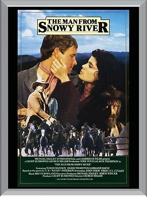 The Man From Snowy River Movie A1 To A4 Size Poster Prints