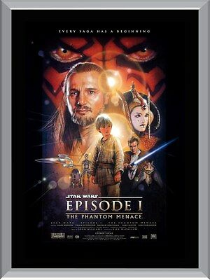Star Wars The Phantom Menace A1 To A4 Size Poster Prints