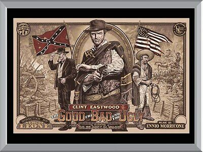 The Good The Bad and The Ugly Poster Art A1 To A4 Size Poster Prints
