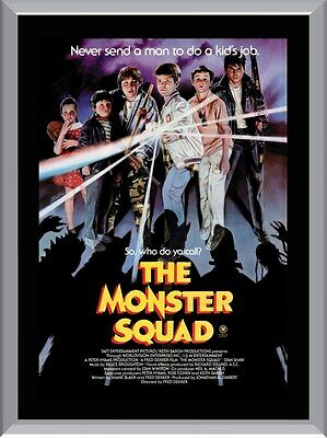 The Monster Squad A1 To A4 Size Poster Prints