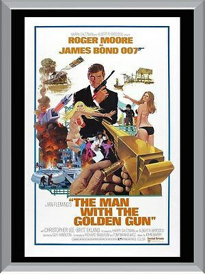 The Man With The Golden Gun A1 To A4 Size Poster Prints