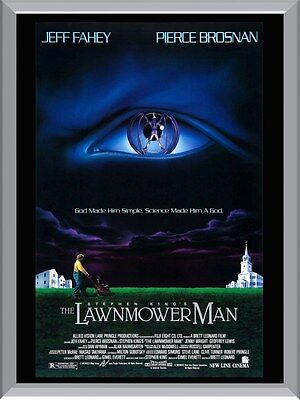 The Lawnmower Man A1 To A4 Size Poster Prints