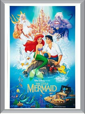 The Little Mermaid Movie A1 To A4 Size Poster Prints