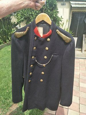 station officers fire brigade tunic
