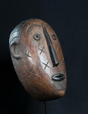Lengola Face Mask, Early 20th Cen, Congo, Old Cape Town Collection.