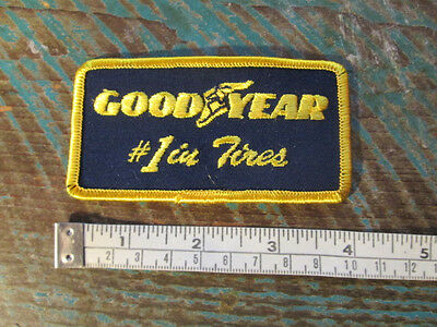 Goodyear 1 In Tires Patch Tire Rubber Company Nascar Scca Can Am Racing F1 Imsa