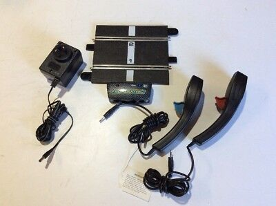 Scalextric Sport Powerbase, 2 controllers, power supply in Excellent Condition