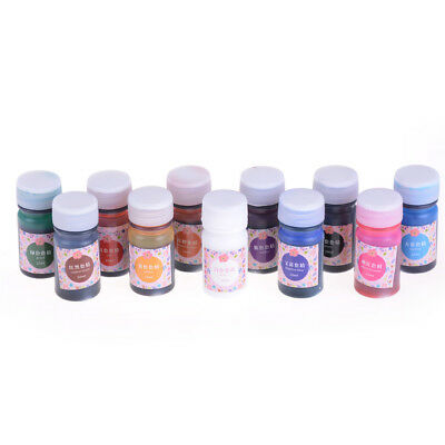 Epoxy Color UV Resin Coloring Dye Colorant Resin Pigment Art Crafts 11 Colour FT