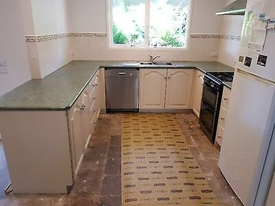 Kitchen, Bench tops, Cupboard Doors And Sink Only