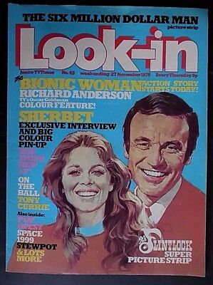 Look In, Vintage Junior TV Times Magazine, from 27th November 1976, Number 49