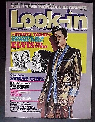 Look In, Vintage Junior TV Times Magazine, from 31st January 1981, Number 6
