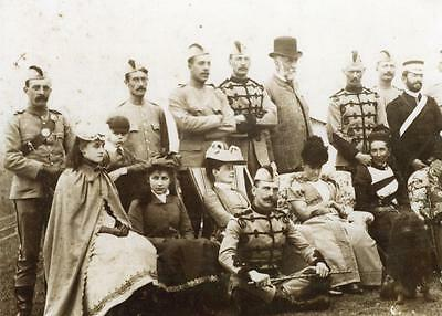 Somerset Light Infantry Officers and Families 1900 Photograph  Military