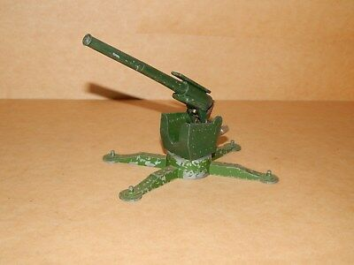 Astra Pharos Toy Cannon Flak Kanone Made In England Diecast Toy For Soldiers
