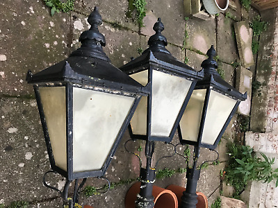 Victorian Style Street Lamps