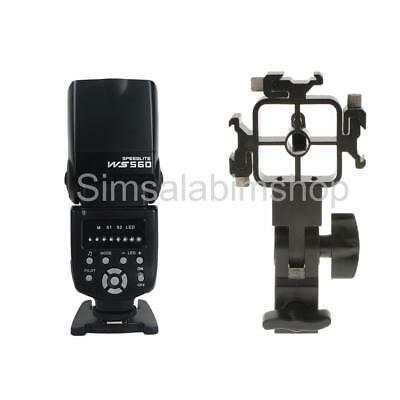 3 in 1 Photo Flash Adapter Hot Shoe Light Stand + Flash Speedlight for Canon