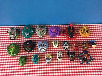 Large Collection Of Vintage Bluebird Toys Mighty Max,mm,playsets
