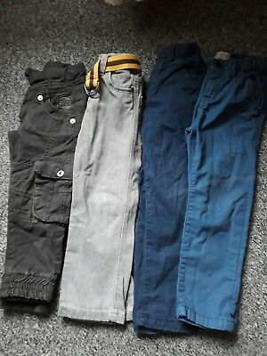 Boys 3-4 trouser bundle Next Zara