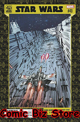 Star Wars #40 (2017) 1St Printing Johnson 40Th Anniversary Variant Cover Marvel