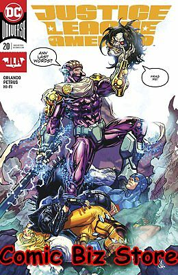 Justice League Of America #20 (2017) 1St Printing Dc Universe Rebirth