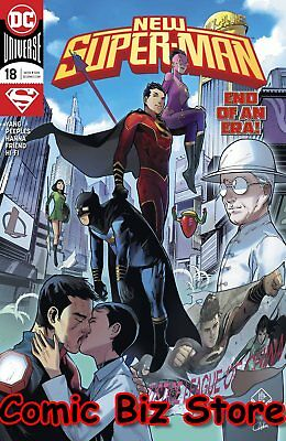 New Super Man #18 (2017) 1St Printing Bagged & Boarded Dc Universe Rebirth