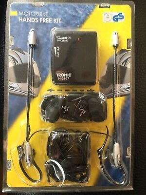 Motorbike Hands Free Kit H-3167 - New