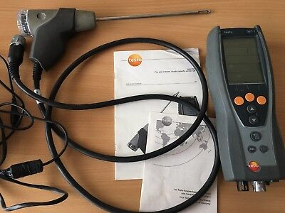 Testo 327-1 combustion Flue Gas Analyser No calibration