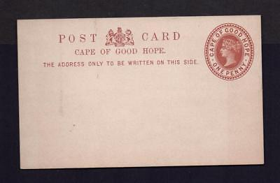 CAPE OF GOOD HOPE, POST CARD 1d, MINT HINGED, (R45)