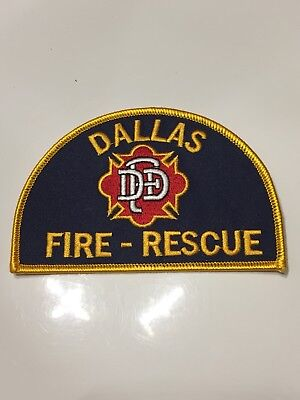 Patch Ärmelabzeichen Aufnäher Badge Dallas Fire - Rescue