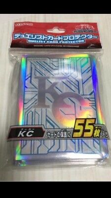 Yugioh Official Card Sleeve Protector : KC Kaiba Corp / 55pcs japan