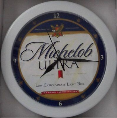 Michelob Ultra Beer Sign Wall Clock!