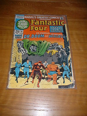 Marvels Greatest Comics 31, June 1971, Cents Copy,  Vg-  Cond. 64 Pgs