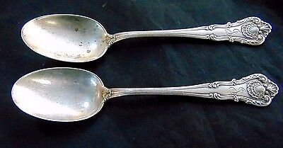 Bailey Banks & Biddle Co. Sterling Silver Spoons (2) -60.3g