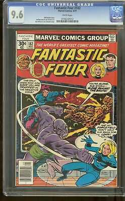Fantastic Four 182 CGC 9.6 White Pages