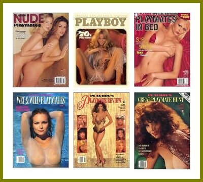 Playboy's Playmate Magazines & Calendar Compilation 107 Issues In PDF On 1 DVD