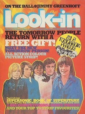 LOOK IN MAGAZINE. ISSUE 6. 31st January 1976. Superstar Book Part 2 & Kenny.