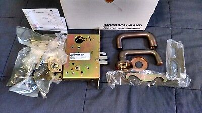 schlage L9070JD mortise lock 03A 613 with cylinder and keys