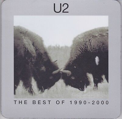 U2 - The Best Of 1990 - 2000 - Scarce UK promo only mousemat