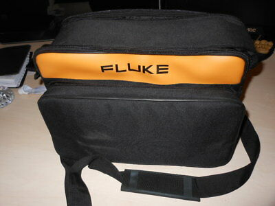 Fluke C345 Soft Carrying Case, Polyester, Blk/Yel US Great Condition
