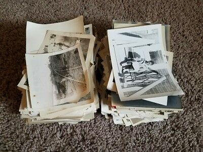 600+ vintage snapshot photo lot black & white picture antique 20s 30s 40s 50s 5