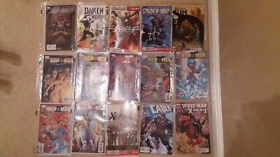 Marvel Comics x40 In Protective Covers