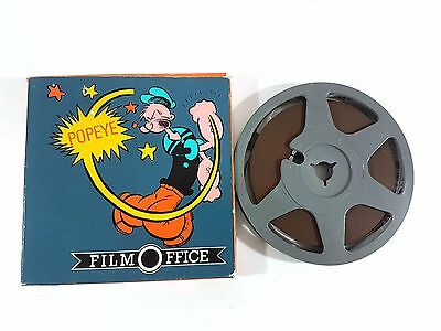 Film Super 8 Film Office POPEYE sont verts mes epinards laatste spinazi Movie 46