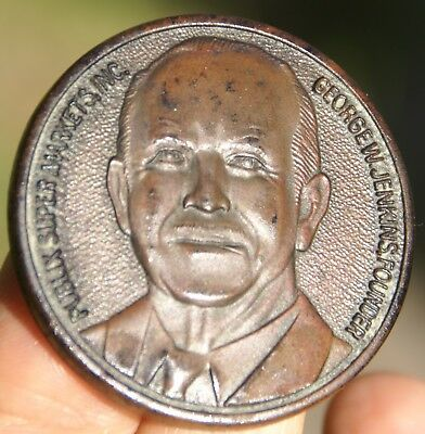 Publix Super Market Inc George W. Jenkins Founder 50 Years of Shopping Medal