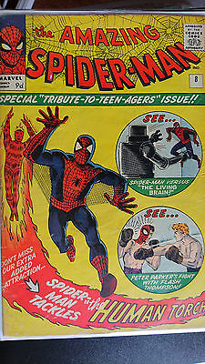 Amazing Spiderman 8 The Living Brain - Peter V Flash Boxing Match!