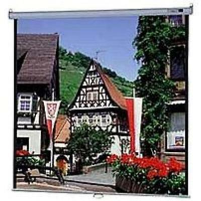 B Da-Lite Model B 40197 Manual Wall and Ceiling Projection Screen - 1:1 - 119 in