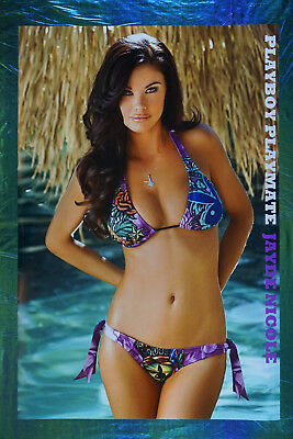 Playboy Playmate Jayde Nicole Swimsuit Model Rare Picture Poster 24X36 New  JNSW