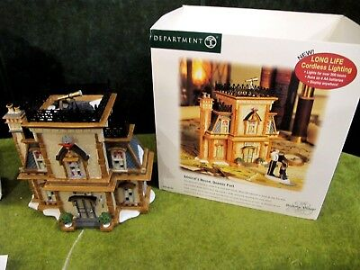 DEPT 56 Admiral's House Queens Port Dickens Village 58733 SELL FOR $40-$65
