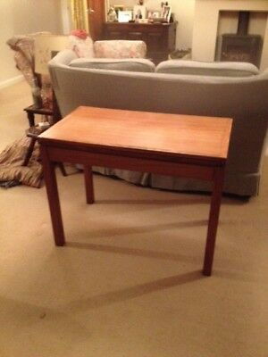 "Ex RAF Officers Card Table. Very good condition. H28', W35.5"", D20""."